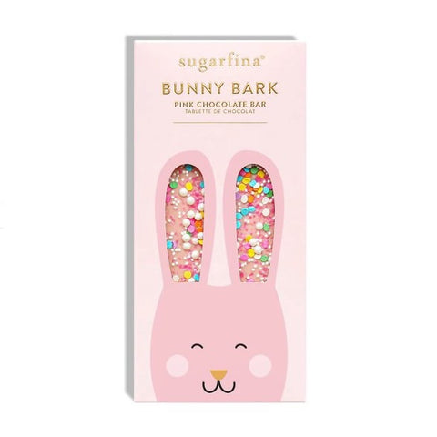 Pink Bunny Bark Chocolate Bar