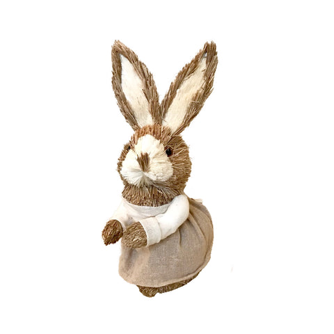 Jute Girl Bunny in Dress