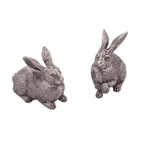 Wild Hares Salt + Pepper Shaker Set