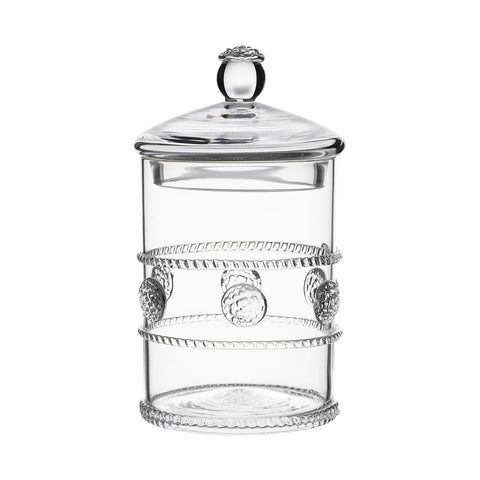 Isabella Clear Glass Mini Canister