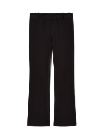 Crosby Cropped Flare-Black