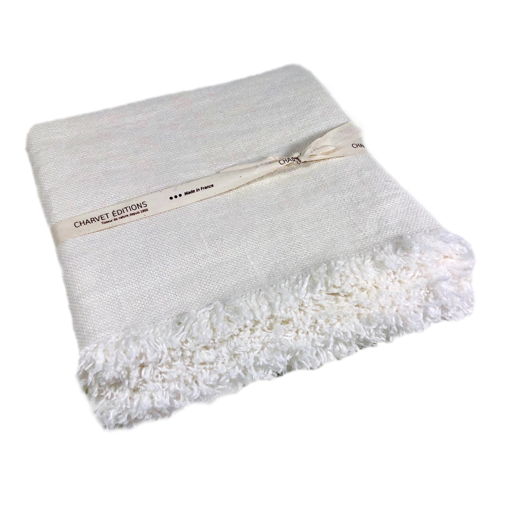 Colorado White Table Runner
