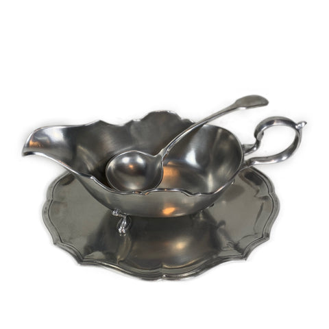 Pewter Gallic Gravy Boat