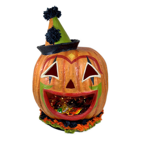 Pumpkinhead Clown Lantern