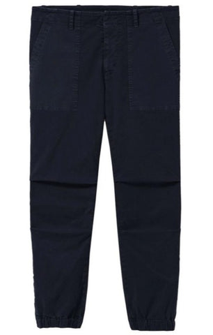 Cropped Military Pant in Dark Navy