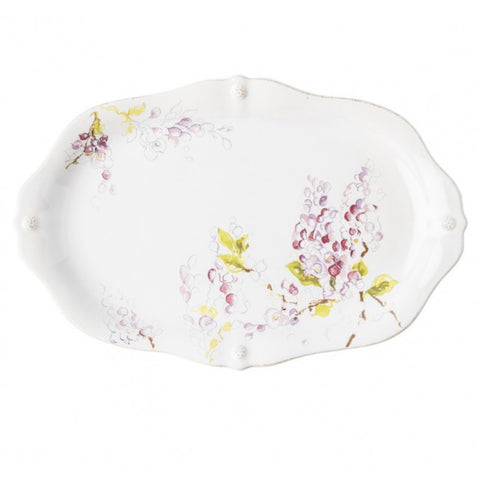 Berry & Thread Floral Sketch Wisteria Platter