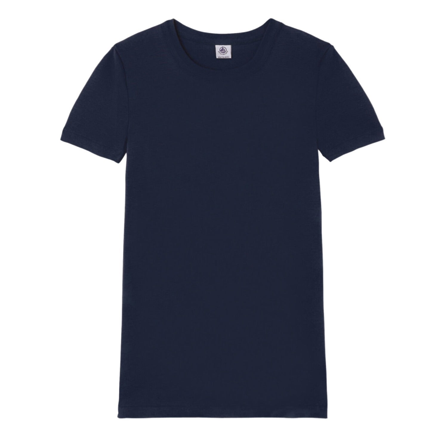 Short Sleeve Crewneck Tee in Navy