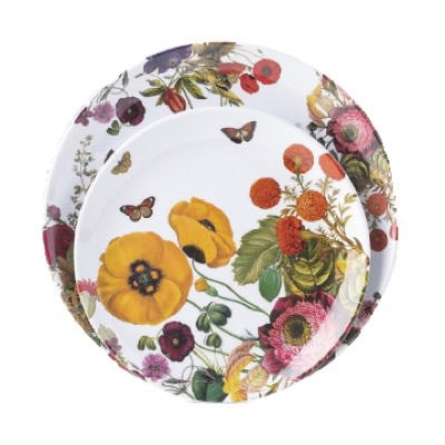 Field of Flowers Melamine Salad Plate