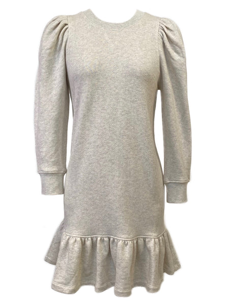 Eli Sweatshirt Dress in Oatmeal