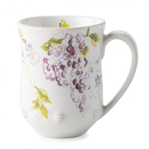 Berry & Thread Floral Sketch Wisteria Mug