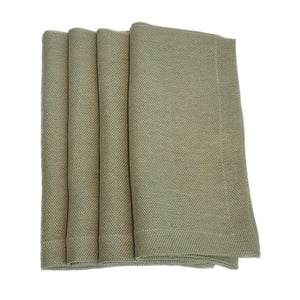 Italian Basketweave Napkin in Sage