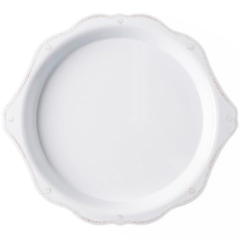 Berry & Thread Melamine Round Handled Platter
