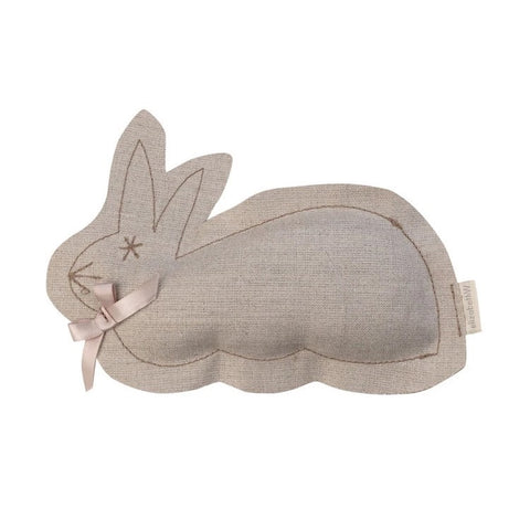 Lavender Scented Bunny Sachet in Natural Linen