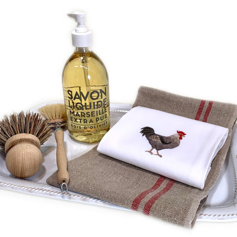 Embroidered Rooster Everyday Towel