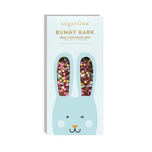 Blue Bunny Bark Chocolate Bar