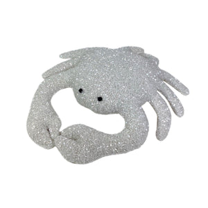 Luxus Beaded Velvet Crab in Ivory