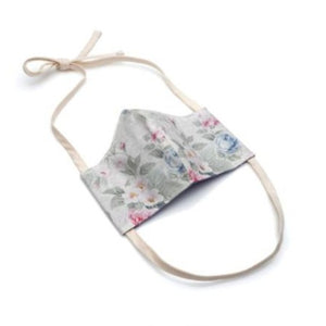 Corona Care Face Mask in Vintage Floral