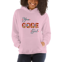 Load image into Gallery viewer, You Code Girl Hoodie
