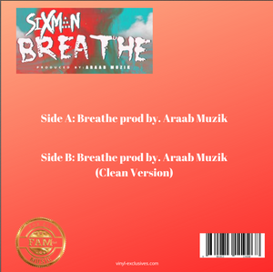 "Sixman - Breathe 7"" Single"