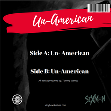 "Load image into Gallery viewer, Sixman - Un-American 7"" Single"