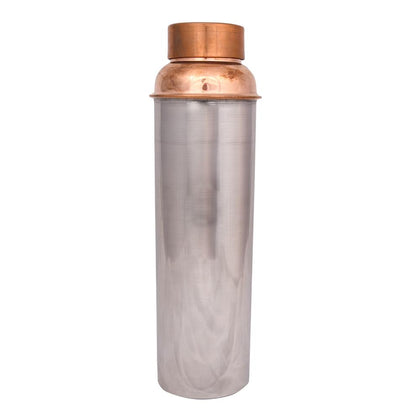 1000 ml Copper Steel Bottle - iZiffy.com