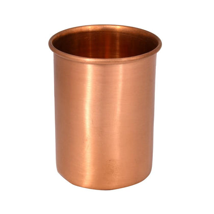 Plain Round Copper Glass - iZiffy.com
