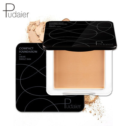 New Soft Natural Makeup Powder for Face Oil-control Mineral Face Powder