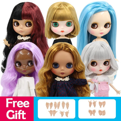 ICY 1/6 bjd factory blyth doll normal/joint body special offer lower price DIY girl gift, naked doll 30cm