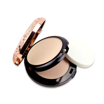 Beauty Glazed Professional Full Coverage Long Lasting Makeup Face Powder