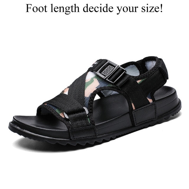 Gladiators Casual Roman Shoes Outside Breathable Mens Sandals