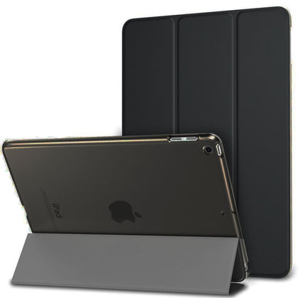 Silicone Soft Back Folio Stand with Auto Sleep/Wake Up PU Leather Smart Cover for iPad 3 4 2 Case