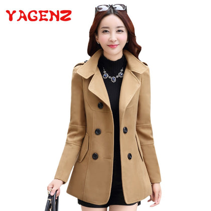 Winter Clothes Short Wool Coat Women Coat Korean Autumn Woolen Coat