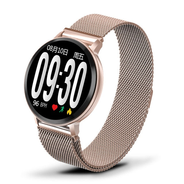 LIGE Smart Bracelet Women Waterproof Fitness Tracker Heart rate Blood Pressure Monitor Pedometer Sport Watch Smart wristband+Box