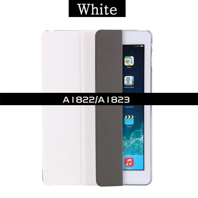 Ultra-thin Magnetic Case for iPad 9.7 2017 2018 New A1822/A1893 Smart PU Leather Funda Cover Auto Sleep/Wake 6th generation Case