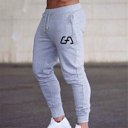 Men Joggers Jogging Skinny Leggings Soccer Training Sweat Pant