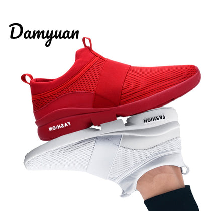 New Fashion Men Flyweather Comfortable Breathable Shoes