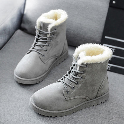 Snow Boots 2019 New Mid-Calf Boots Ladies Cotton Winter Boots