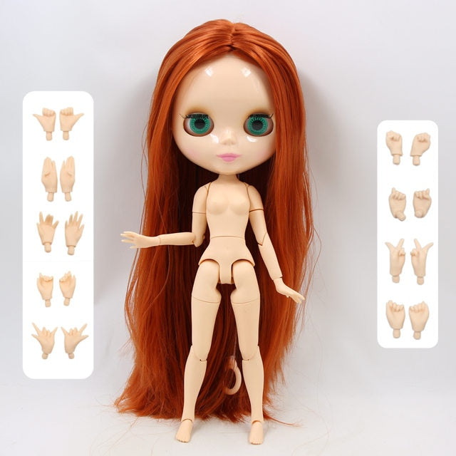 ICY factory blyth doll 1/6 BJD neo 30cm blyth custom doll joint/normal body special offer on sale random eyes color 30cm