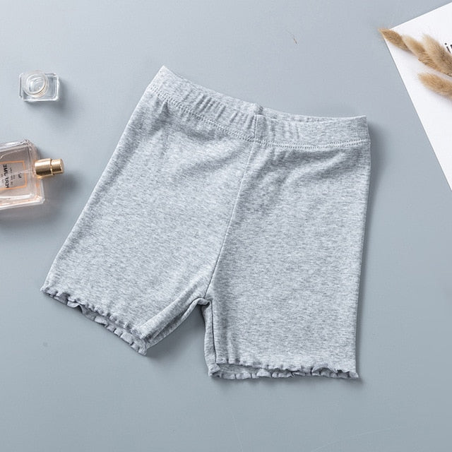100% Cotton Girls Safety Pants Top Quality Kids Short Pants
