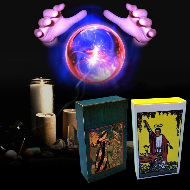 Hot Full English Radiant Rider Wait Tarot Cards Factory Made High Quality Smith Tarot Deck Board Game Cards