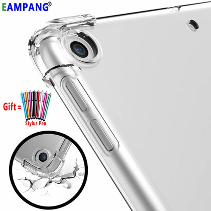 Clear Drop Resistance Silicon Cover for Apple iPad 2 3 4 9.7