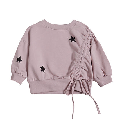 Baby Clothes Top Girl Long Sleeve Sweatshirt Baby Girl T-Shirt