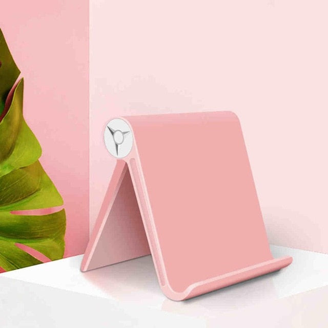 High Quality Tablet Holder Stand For iPad Kindle Foldable Adjustable Angle Desk Phone Holder Stand Mount For iPhone Samsung S10
