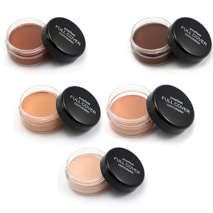 Full Cover Base Concealer Cream Women Face Makeup Hide Dark Spot Blemish Concealer Contouring Corretive Liquid Foundation TSLM2