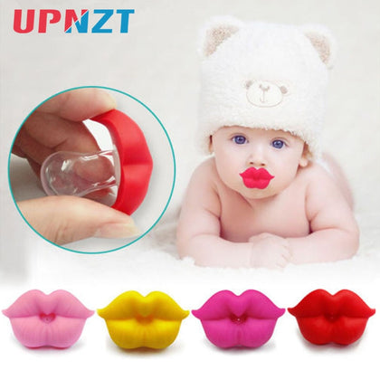 1PC Baby Pacifier Infant Kiss Lip Dummy Pacifier