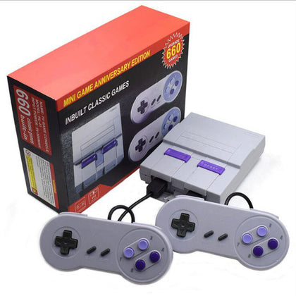 Retro Super Classic Game Mini TV 8 Bit Family TV Video Game Console Built-in 660 Games Handheld Gaming Player Boy Birthday Gift