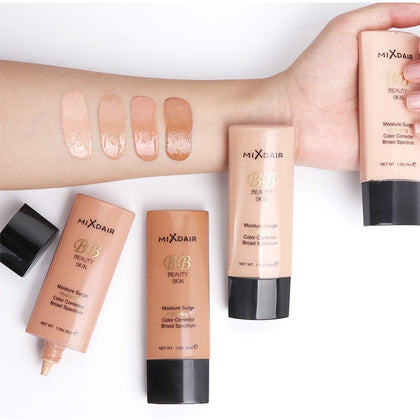 4 Colors Foundation Soft Matte Long Wear Oil Control Concealer Liquid Foundation Cream