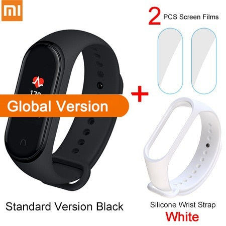 Xiaomi Mi Band 4 Smart Bracelet 3 Color AMOLED Screen Heart Rate Fitness Bluetooth 5.0 Sport Waterpfoof Wristband