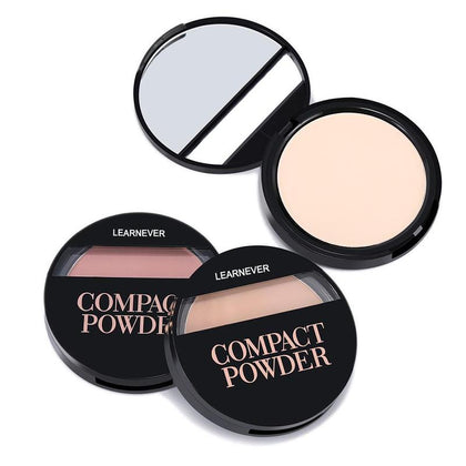 New Soft Translucent Compact Pressed Powder For Face & Contour Palette Finishing Powder