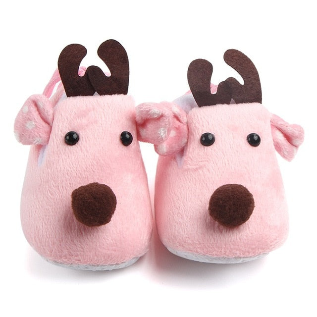 Baby Shoes Girls Boy First Walkers Newborn Slippers Baby Girl Crib Shoes Footwear Prewalker 0-18M